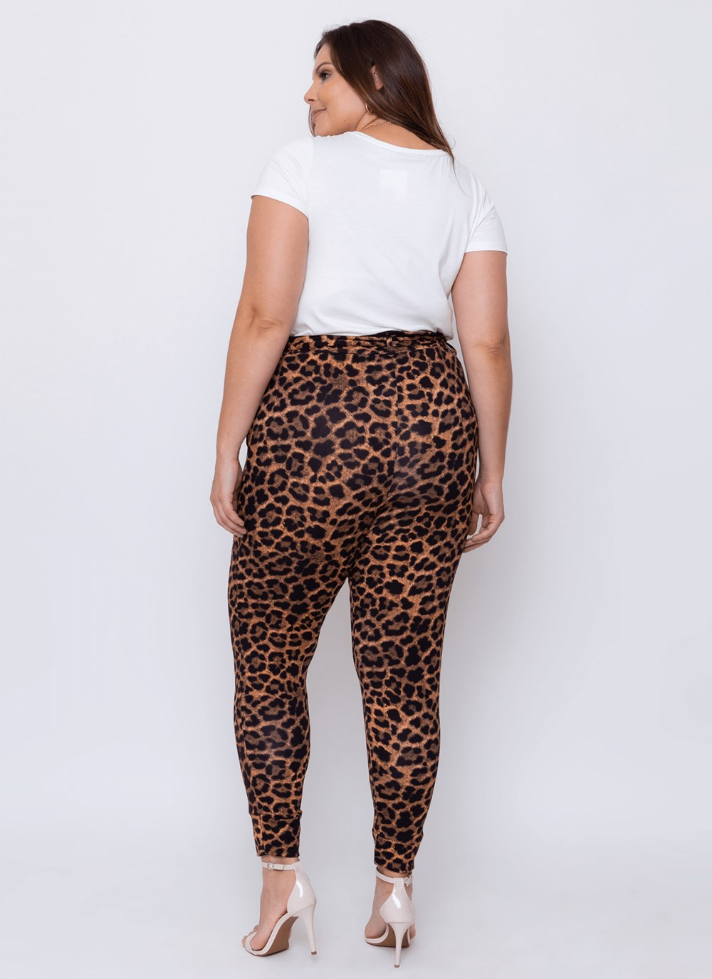Calça Clochard Animal Print CURVE